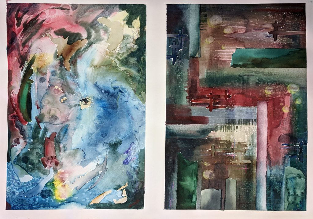 Abstract watercolor 3
