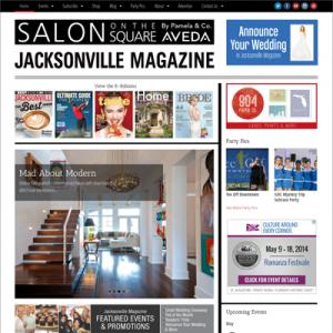 Website for Jacksonville Magazine