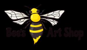 Bee's Art Shop Logo